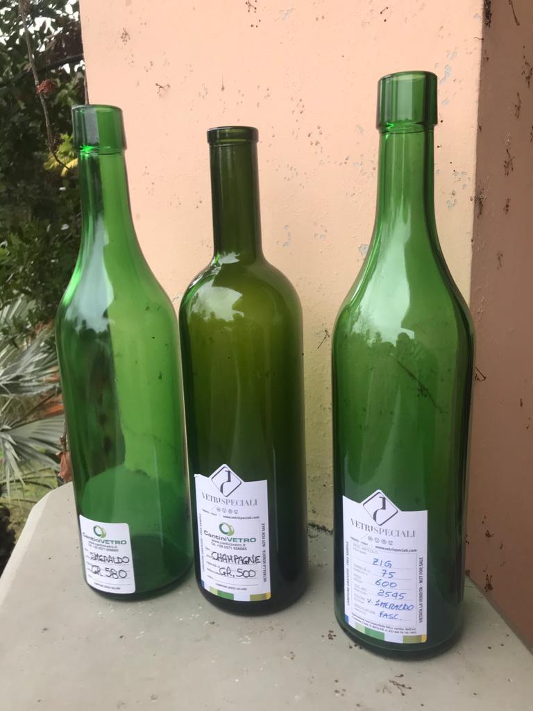 Studio bottiglie Tombolini